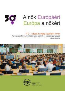 Az Európai Női Lobbi kiáltványa, 2019